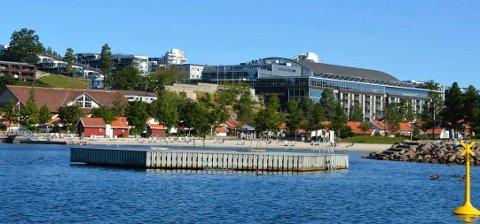 BCC: Brunstad Christian Church er største leietaker hos Oslofjord Convention Center (bildet) i Stokke. BCC ønsker å avansere fra posisjonen som observatør til fullverdig medlem i Norges Kristne Råd.