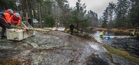 Bildet er fra en tidligere ekskursjon som Høgskolen i Østfold har arrangert for studentene ved studiet innovasjon og ledelse. Tilsvarende tur ble gjennomført i forrige uke, nå har en av deltagerne fått påvist korona.