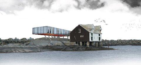 Meningene om skissen av det planlagte Moloen hotell på Veiholmen er delte.