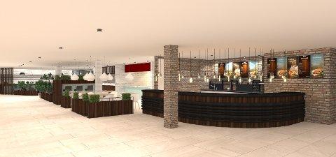 Foodcourten i Torvbyen skal inneholde pizzeria, steakhouse, kafé og sushi. Nå søker eierne etter personer som kan drive dem.