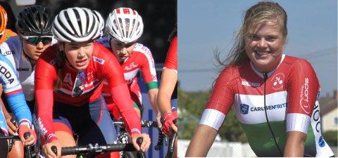 NY SATSING: Syklistene Martine Gjøs og Hennie Engebretsen er en del av ny kvinnesatsing på Ringerike.