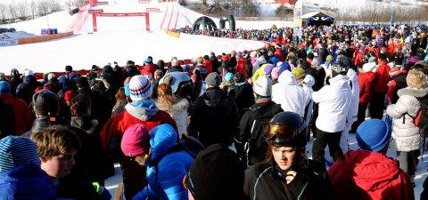 PUBLIKUM: Arrangørene håper på 6.000 tilskuere i Kvitfjell.