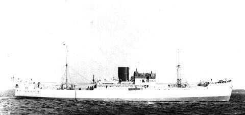 Tragisk: Alle om bord ble drept da «Vibran» ble senket 23. september 1942. FOTO: HAUGESUND REDERIFORENING