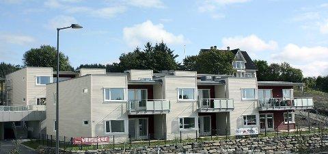 Lokale boliger: I 2013  var utbyggingen av  Hemmingstad i Haugesund i gang . Arkivfoto.