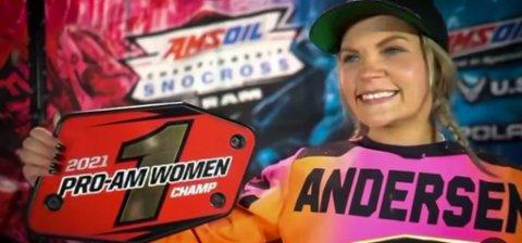 NUMMER EN: Malene Trosten Andersen fra Vadsø vant Pro Woman-klassen i det amerikanske mesterskapet i helgen. Landslagstrener Pål Grøtte er full av lovord til vadsøværingens prestasjon.