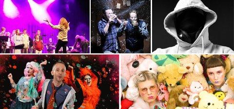 Fem ulike prosjekter venter ungdom under årets festspill i Nord-Norge.