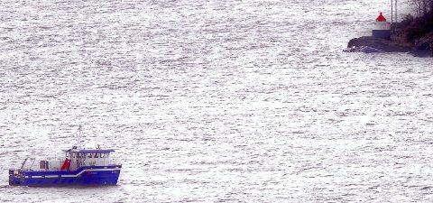 HUGIN ER I VANNET: Undervannsfarkosten fikk en nærmere titt på forholdene på havbunnen ikke langt fra Mulåsen. Foto: Trygve Eriksen