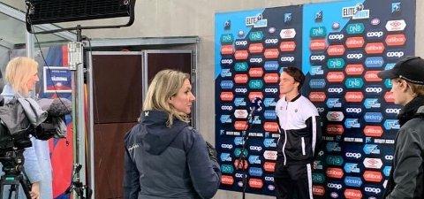 I RAMPELYSET: Syver Skaar Eriksen fikk spille fra start av mot Vålerenga. FOTO: PRIVAT