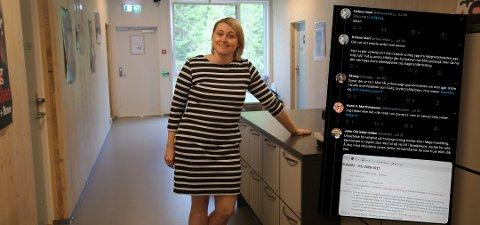DISKUTERT: Sarah Yttermo Reibo iNorges arktiske studentsamskipnad sier setningen fra 2018 var en glipp, tre år senere har den fått oppmerksomhet.
