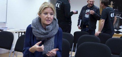 OMFATTENDE PROBLEM: VIbeke Asekvold, senterleder, sier at det naskes nesten hver dag på CC Gjøvik.