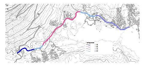 Her er dagens fartsgrenser på hovedveien gjennom Gaustaområdet.