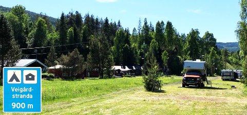 VEIGÅRDSTRANDA CAMPING: Ny driver er på plass for å få blåse nytt liv i campingplassen. De siste åra har det vært liten aktivitet på den idylliske plassen langs Begna.
