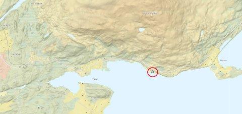 Kart: Statens vegvensen/Kartverket
