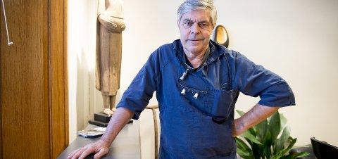 Tannlege Øyvind Simonsen mener endringen i hvem som har rett til refusjon vil ramme de svakeste i samfunnet.