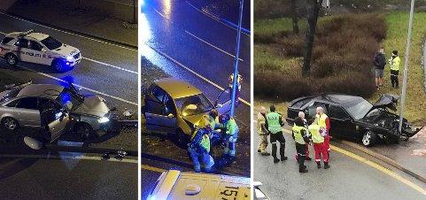 Politiet er godt kjent med at bilister havner i problemer i denne svingen. Arkivfoto: Remi Presttun/Bente-Line Svellingen/Birthe Steen Hansen