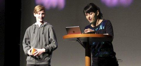 NRK-KJENDIS: Selda Ekiz skal være konferansier og skal holde flere energishow underveis. Foto: Arkivfoto