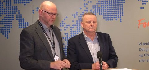 SKAL JUSTERE: Ifølge Øyvind Juell i Luftambulansetjenesten HF og Geir Tollåli, fagdirektør i Helse Nord, gjenstår det kun justeringer før alle fly kan være i beredskap uten restriksjoner.