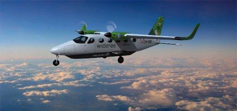 Administrerende direktør i Widerøe, Stein Nilsen, tror de kan ha nullutslippsfly i drift innen midten av 2020-tallet.