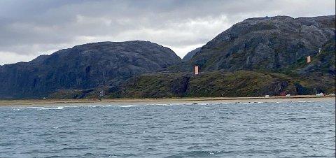 Området HRS søkte i, er cirka 16 km fra den norske grensen.