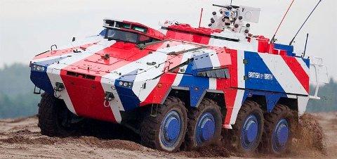 Storbritannia fortsetter å bruke Kongszberg Gruppens Protector RS4, som blir integrert på den britiske Hærens nye flåte av Boksker 8x8-kjøretøy.