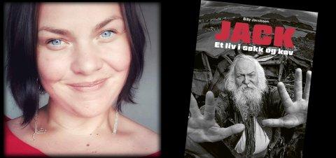 TAKKNEMLIG: Steivor Berntsen er datter til avdøde Jack Berntsen som nå har fått en biograf ført i pennen av Billy Jacobsen. Steivor beskriver i leserbrevet hvordan hun opplever å lese boka om sin far.