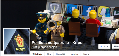NETTPATRULJE: Kripos opprettet i oktober sin egen Facebook-patrulje for å holde kontroll på hva som beveger seg i de forskjellige kretser.