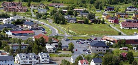 Kommunesentret Storsteinnes i Balsfjord.