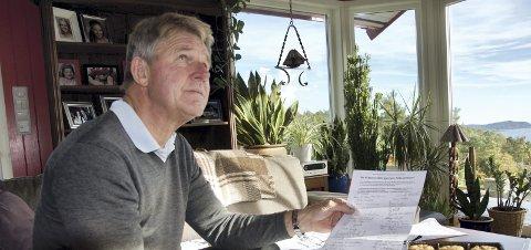 Engasjert: Yngve Røskestad engasjerer seg i Statkraft-saken på Tofte.arkivfoto