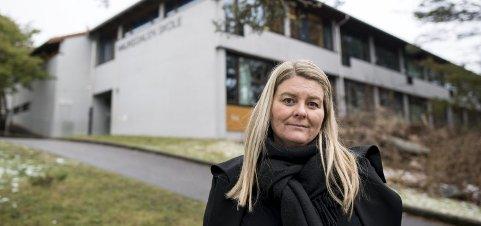 Linn Baug mener Haukedalen skole må sørge for at elever med lese- og skrivevansker får hjelp tidlig. – Det er elevene dette gjelder som blir taperne her, sier Baug. FOTO SKJALG  EKELAND