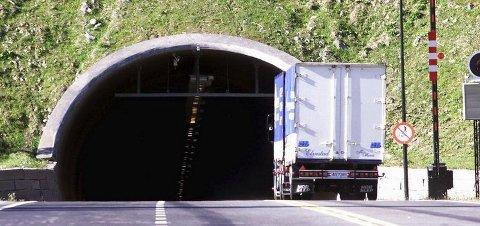 Stengt. Oslofjordtunnelen vil bli mye stengt i fire uker fremover.