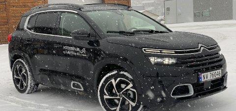 Barsk: Citroën C5 Aircross er en stor og romslig bil, og i kjent Citroenstil har den egenskaper den inntil videre er alene om.