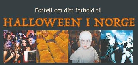 Halloween er blitt en tradisjon i Norge. Del minnene dine, oppfordrer Norsk folkeminnesamling og Norsk etnologisk gransking.