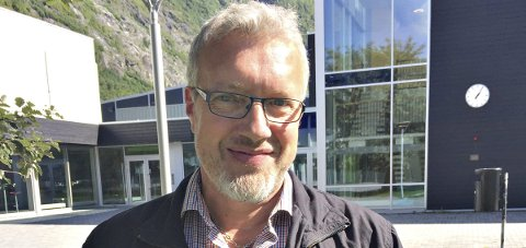 Velkommen: Rektor Ingemar Andersson ønsker nye elever velkommen til Sunndal kulturskole.