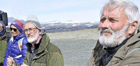 Dovregubbene: Sverre Løvaas (tv) og Svein Iversen vil ha et tilbakeblikk på BDMIs ti første år på villmarkskvelden.Arkiv