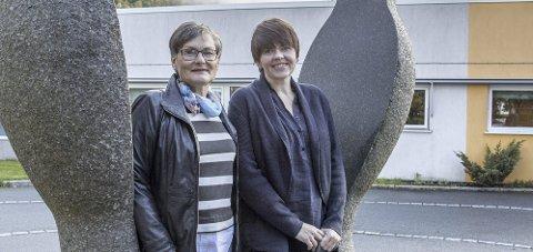 Velkommen: Anne Lise T. Visnes (t.v.) og demenskoordinator Anne Breisnes deltar under kurset.Arkivfoto