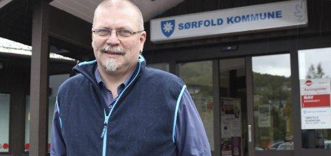 Ordfører i Sørfold, Lars Evjenth. Foto: Ida Kristin Dølmo