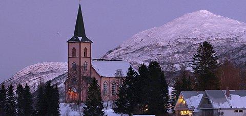 Røsvik kirke var arena for julekonserten med Sangria og Sørfold kulturskole like før jul i fjor.