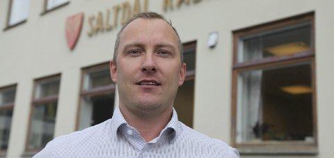 Sliter: Ronny Seljeseth, rådmann i Saltdal, vil ha et samarbeid, enten med Bodø eller Fauske/Sørfold.