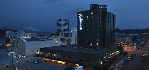 Kjedekjøp: Radisson Blu – eller SAS-hotellet som det fortsatt omtales som i Bodø. Arkivfoto