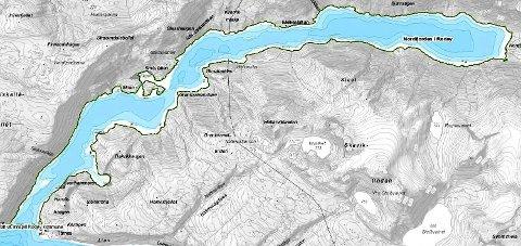 Vernes: Nordfjorden marine verneområde er et av 36 områder som foreslås vernet, hvorav 12 er fjorder.