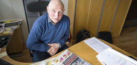 Gjorde lite: Tidligere ordfører Per Swensen (H) var leder av Meløy Energis generalforsamling, formannskapet.Foto: Johan Votvik