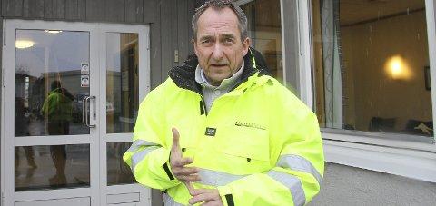 Godt levert: Daglig leder i Fauskebygg AS, Leif Roar Stavnes, kan se på pene tall for selskapet i fjor.
