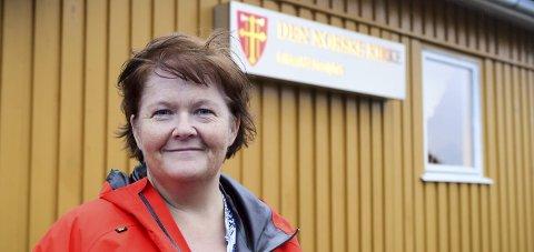 Ny: Hilde Furuseth Johansen (49) har overtatt jobben som kirkeverge i Gildeskål.Foto: Johan Votvik