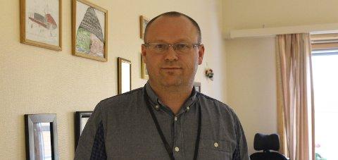 Konstituert kommunedirektør i Saltdal, Stein Ole Rørvik, sier de har kontroll på smitteutbruddet. Foto: Ida Kristin Dølmo