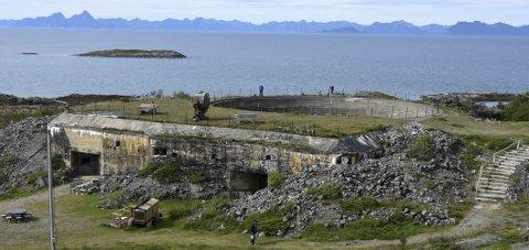 Drifter: Nordlandsmuseet tar seg av driften av både Batterie Dietl og Steigen Bygdetun i Steigen. Foto: Øyvind A. Olsen