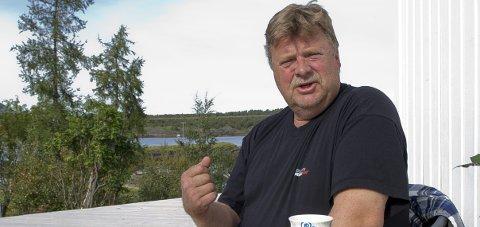 Skuffet: Tidligere HIAF-leder Frank Andersen, trakk seg som leder av LO Meløy i november i år.