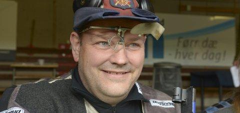 Skyter finale: Arnt Erik Aune er blant en rekke Salten-skyttere som har tatt seg til finalen i Parabolflua Cup.Foto: Freddy Toresen