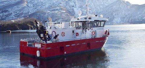 Nybåten: Cermaq Norway har lagt stor vekt på effektiv utførelse av arbeidsoperasjoner, samt komfort for mannskapet. Foto: Privat