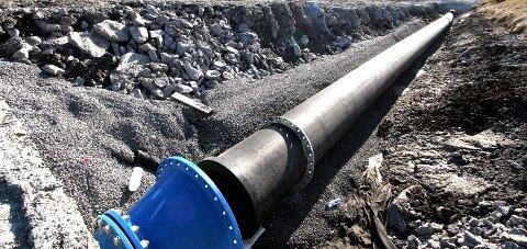 Langt: Teknisk drift i Saltdal har ansvaret for ca. 70 kilometer med vannledninger.