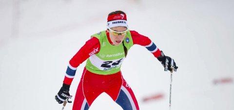 Starter: Ingrid Mathisen er på plass under helgens Norges cup. Arkivfoto